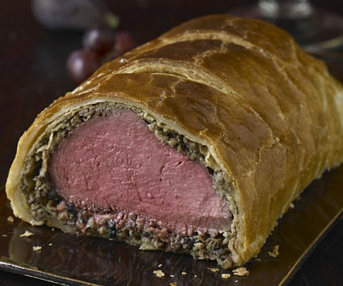 Solomillo Wellington con paté